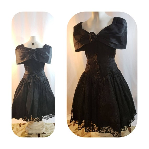 Halloween Witch 70s Lace Dress
