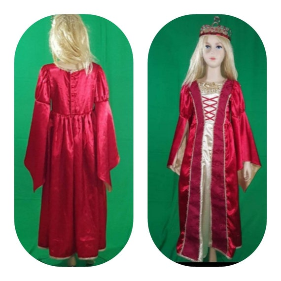 Medieval princess dress/Red Queen