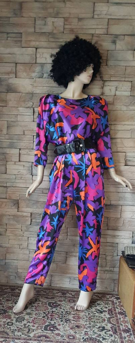 Psychedelic print Romper - image 5