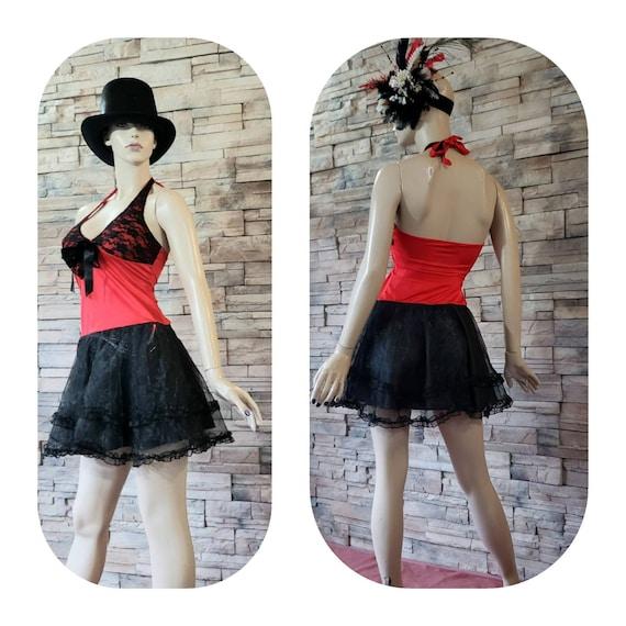 Mini Showgirl Circus Halter Dress