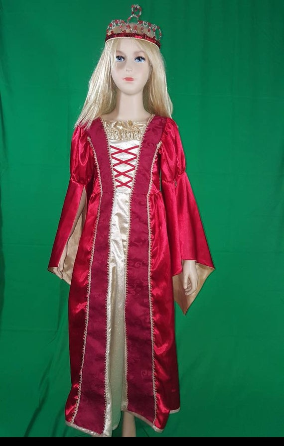 Medieval princess dress/Red Queen - image 4