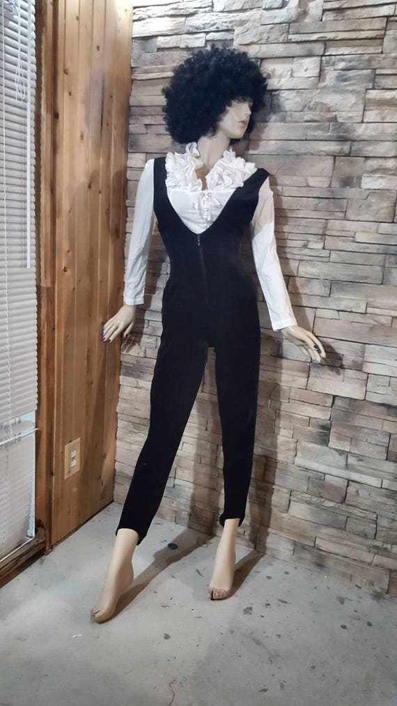 Disco overall and silver top/Velvet jumpsuit - image 7