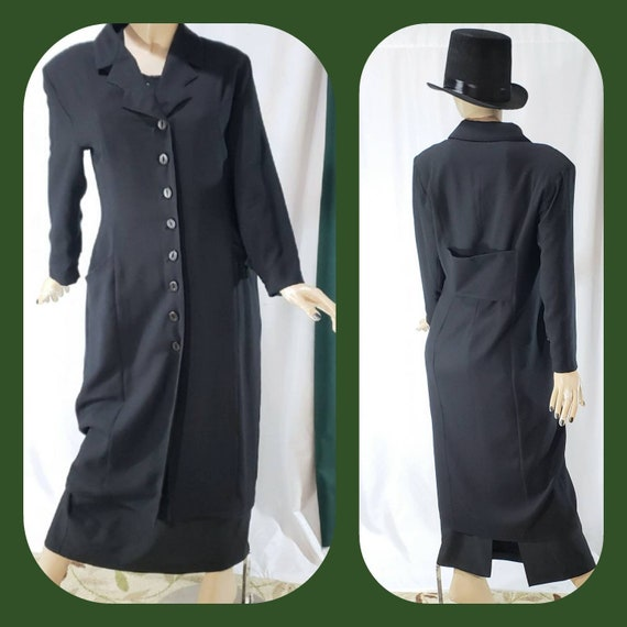 Vintage Gothic trench coat