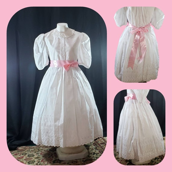French Lace Victorian  Dress