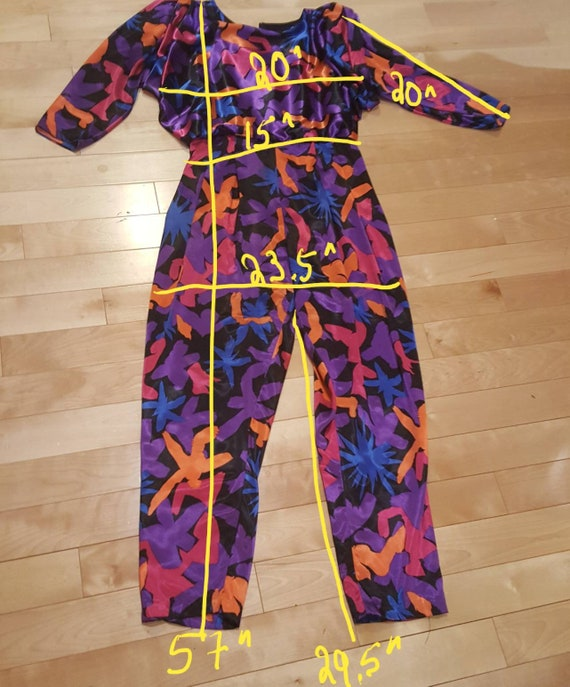 Psychedelic print Romper - image 7