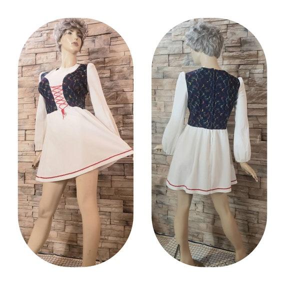 Vintage folk Dancing Dress