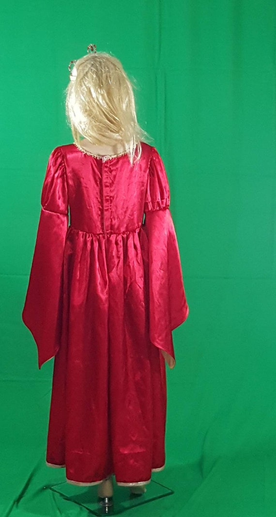 Medieval princess dress/Red Queen - image 5