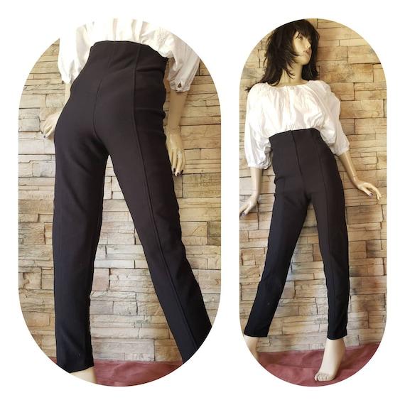 High waist retro pants