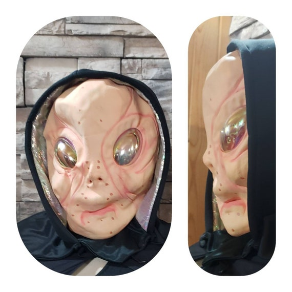 Vintage Alien Latex Mask