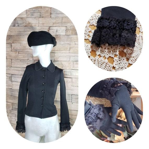 Black Victorian Cosplay Jacket