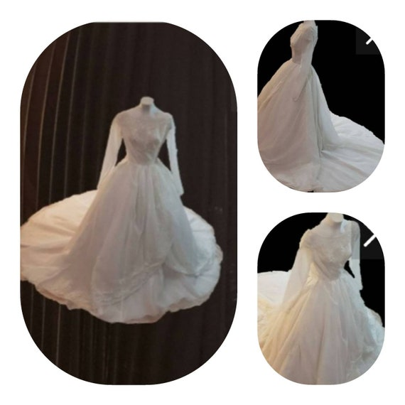 Petite Size Vintage Wedding Dress