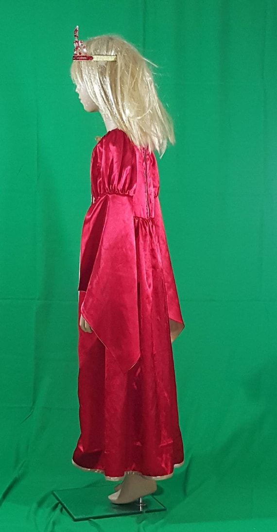 Medieval princess dress/Red Queen - image 6