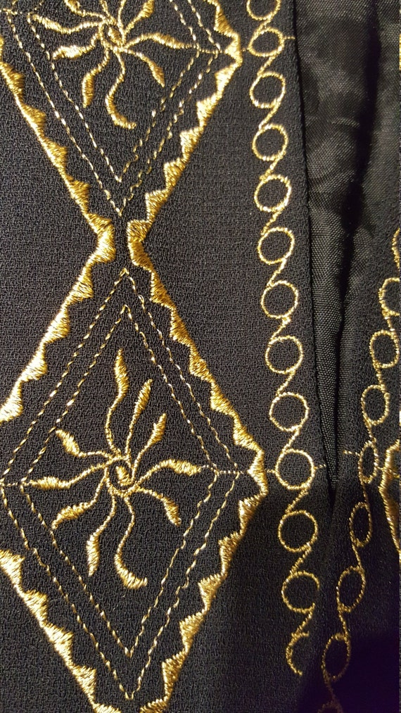 Mariachi Outfit/Goucho Pants Blazer Set - image 4