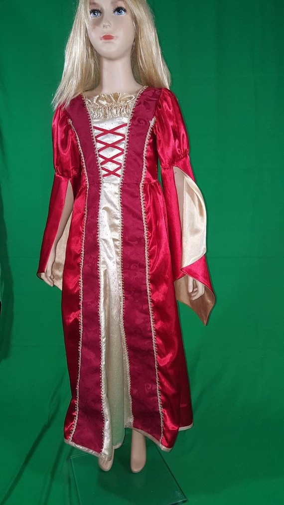 Medieval princess dress/Red Queen - image 2