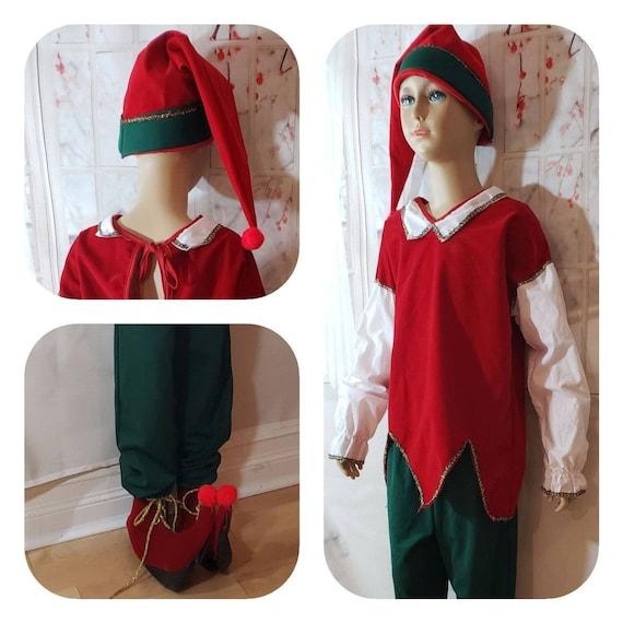 Kids Elf costume / santas helper