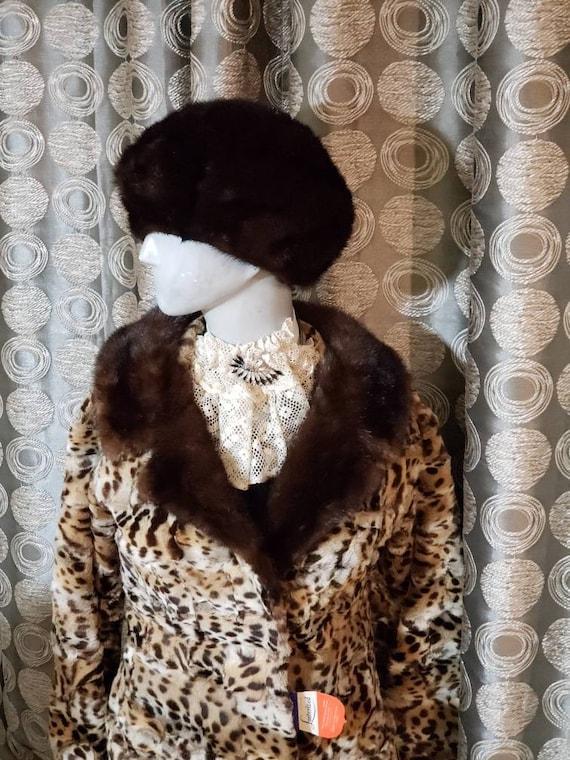 Vintage Fur Winter Hat
