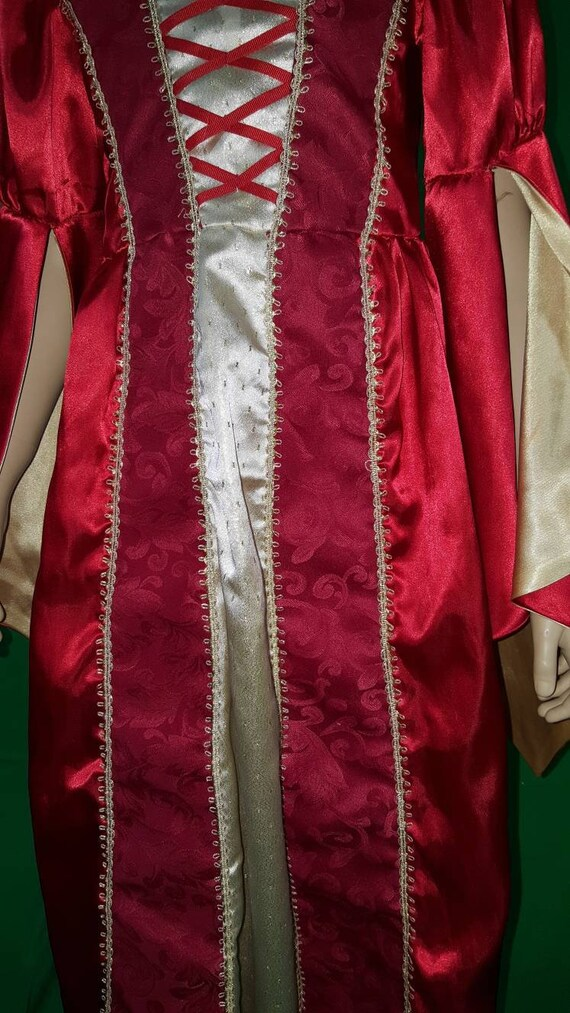 Medieval princess dress/Red Queen - image 7