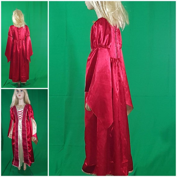Medieval princess dress/Red Queen - image 3