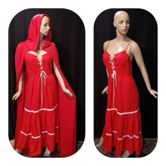 Maxi Boho Dress Renaissance cosplay