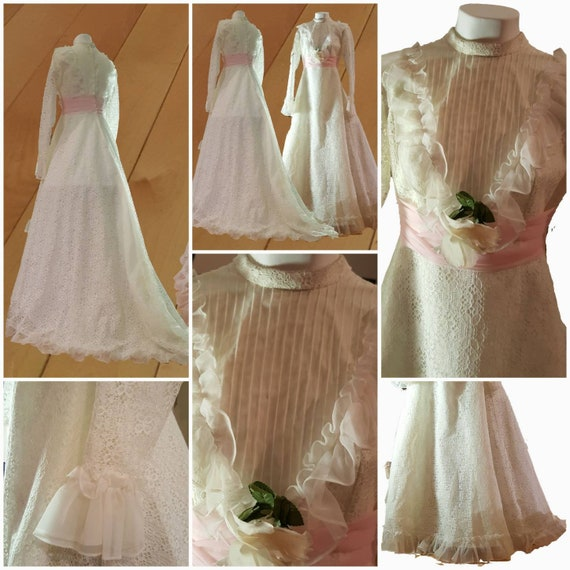 Southern Belle Wedding Dress Mod Style Gown Bridal Long Etsy