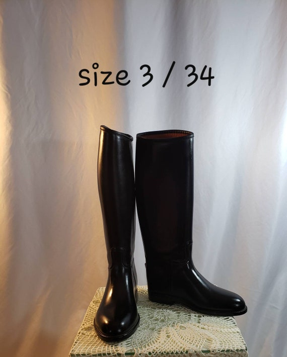 Tall Rubber Riding Boots/Equestrian Wear