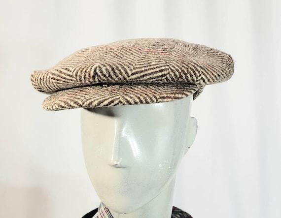 Retro flat cap/ newsboy hat/Tiny Tim