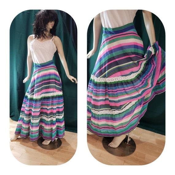 Bohemian Hippie maxi skirt