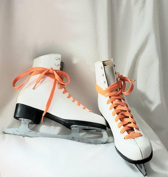 Vintage Ice Skating Shoes Figur Skating
