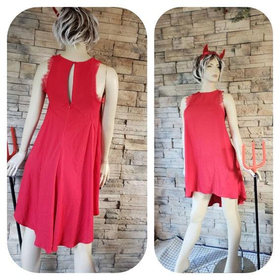 Women's Red Sexy Devil costume