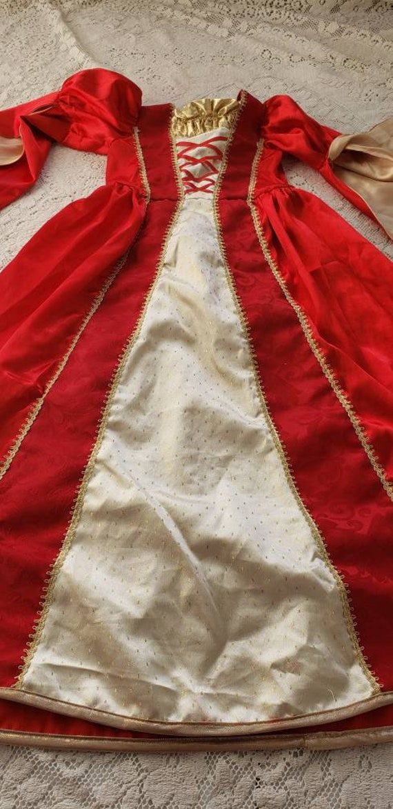 Medieval princess dress/Red Queen - image 10