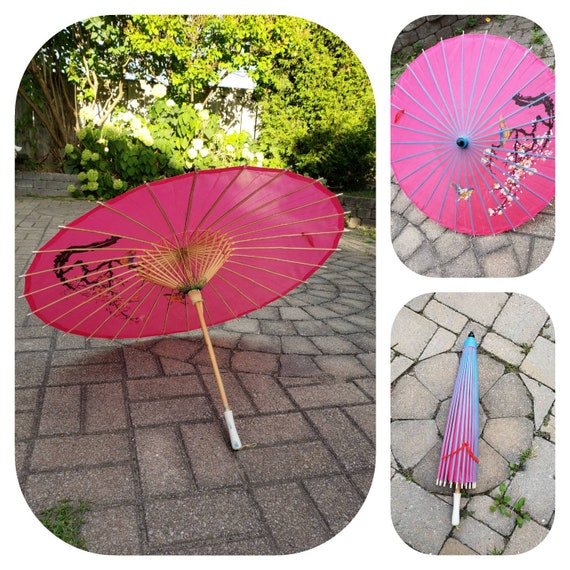 Pink Geisha  Umbrella