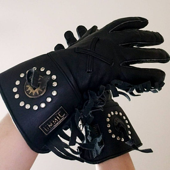 Women Motorcycle Leather Gloves