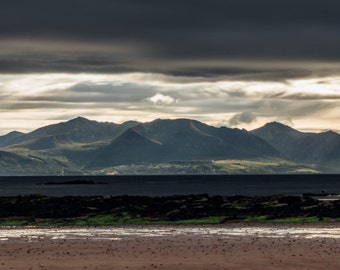 Arran Panoramic Photograph |Made in Scotland | Wide Panoramic | Print or Canvas |
