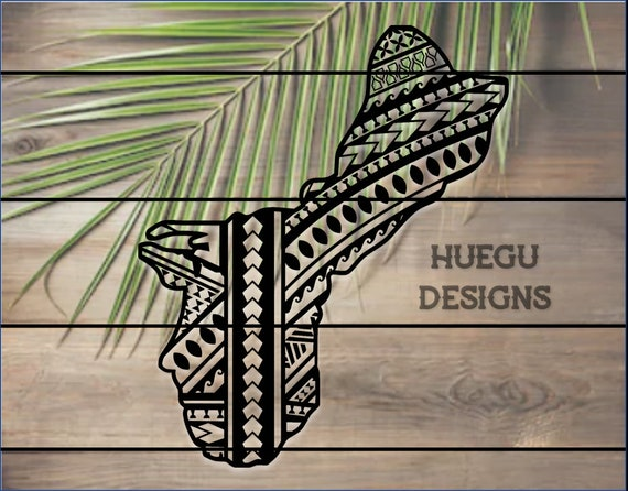 Guam Tribal Decal Etsy