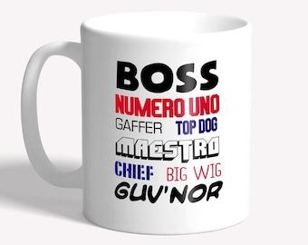 Funny boss mug: gift for boss - funny mug for work, funny mug for boss, mugs for men, boss present, funny gift for her, funny gift for him