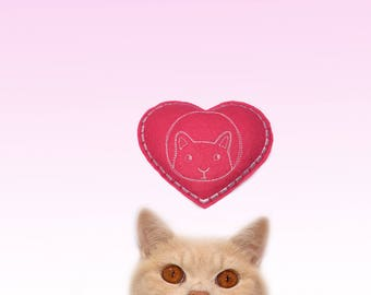 Freak Meowt, Handmade, Unique, Canadian Catnip cat toys, Heart Cool Cat Toys, Gifts for Cats, cat toy, cool cat toy, catnip toy