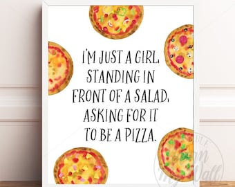 Pizza quotes | Etsy