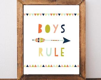 Boys bedroom art | Etsy
