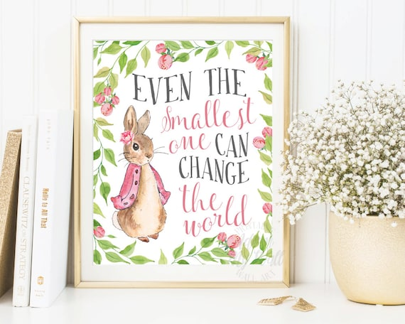 Peter Rabbit Nursery Prints Baby Shower Beatrix Potter | Etsy