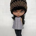 Blythe Doll Clothes - Top, Jeans & Hat Set