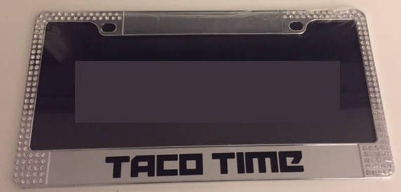 Tiempo De Limitada MarcoEtsy Con Taco Gemas Edición Placa Cromo tsrQdh