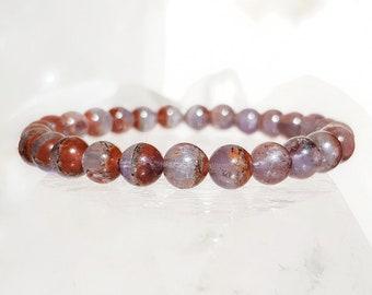 ॐ Auralite 23 Bracelet 6,5mm ॐ Mala Bracelet - Yoga Bracelet - Meditation - Reiki Bracelet 6.5 mm