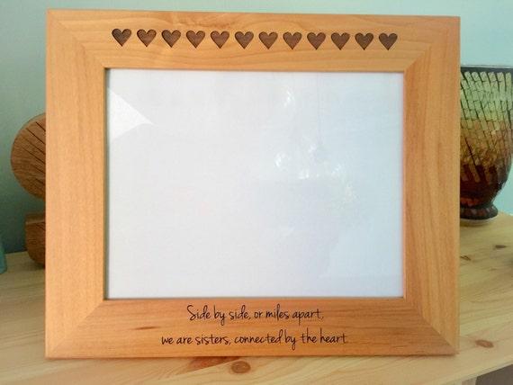 Sister picture frame Sister Gift Sister Birthday Gift | Etsy