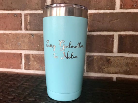 Godmother Gift Fairy Godmother Cup Godmother Gift Idea Stainless Steel Tumbler Godmother Tumbler