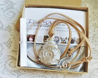 Raw Stone Necklace, Beach Stone Necklace, Gift for Beach Lover, Cape Cod Beach Stone Jewelry, Cape Cod Necklace, Cape Cod Pendant, Gift 35