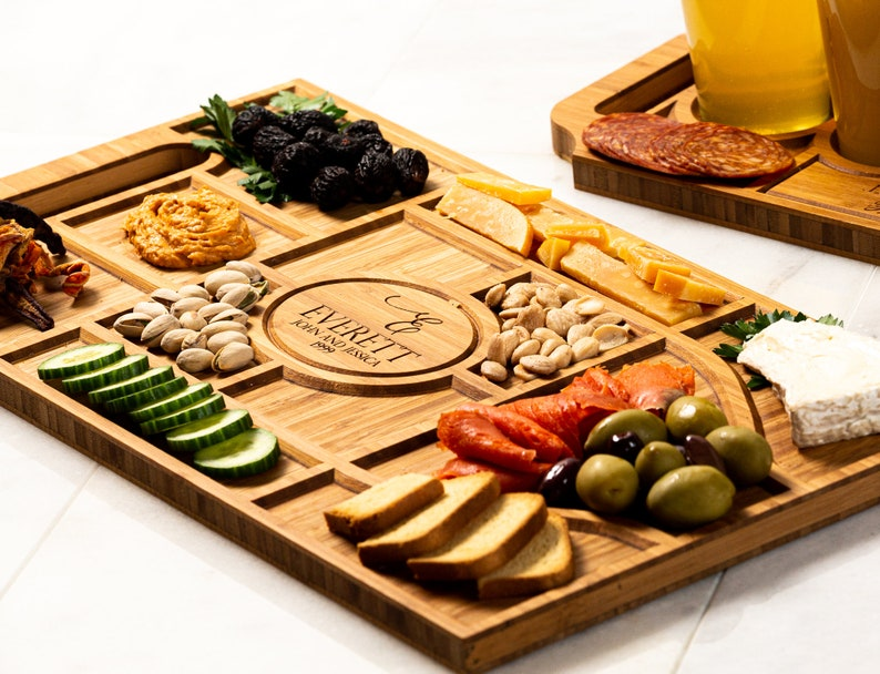 Personalized Charcuterie Planks and Beer Flights  4 Styles image 0