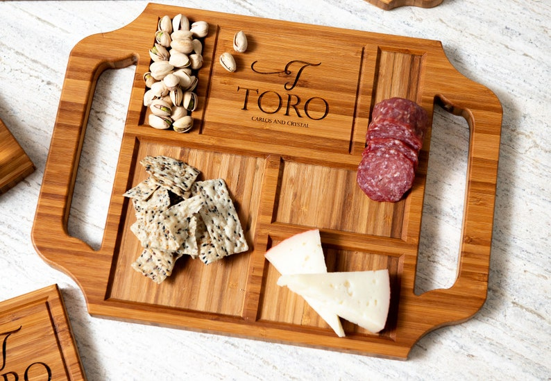 Personalized Charcuterie Boards christmas gift for women