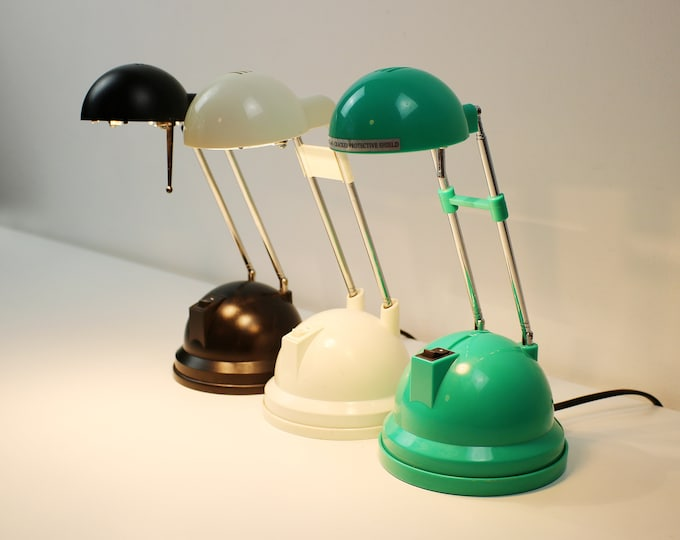 1990s / early 2000s Space age telescopic extending desk lamp / light. Choice of 3 colours and makes IKEA etc.