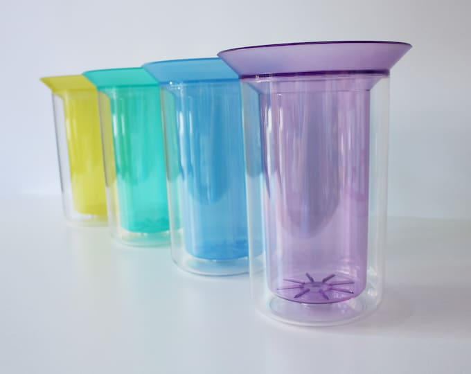 1990s Bodum memphis inspired wine/water cooler - boxed - 4 colours available