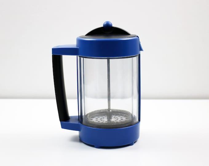 1990s Sebastian Conran cafetiere - coffee press for Culinare - Memphis influence